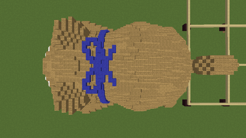 Minecrafterししゃもがマインクラフトでリクエストいただいたもちしばを作る5