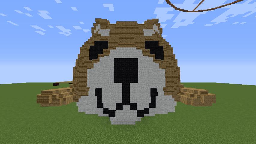 Minecrafterししゃもがマインクラフトでリクエストいただいたもちしばを作る2