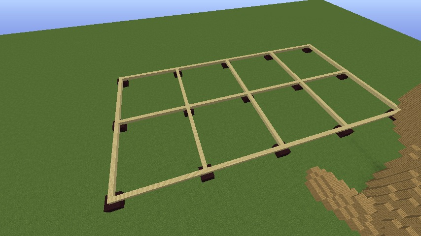 Minecrafterししゃもがマインクラフトで究極の犬小屋を完成させる1