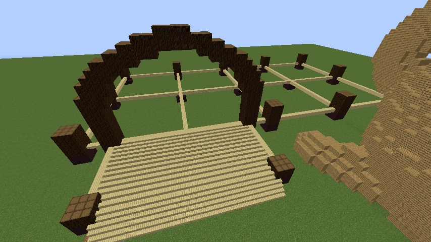 Minecrafterししゃもがマインクラフトで究極の犬小屋を完成させる2