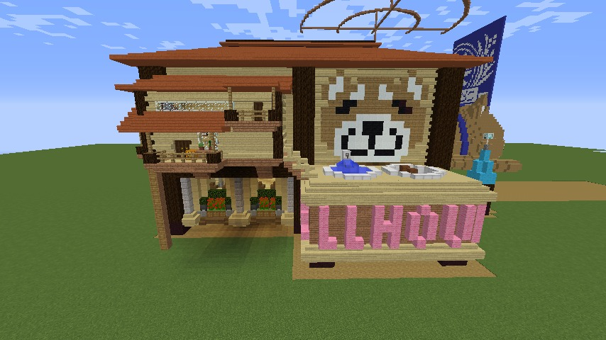Minecrafterししゃもがマインクラフトで究極の犬小屋を完成させる5