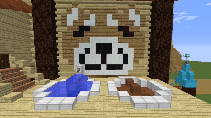 Minecrafterししゃもがマインクラフトで究極の犬小屋を完成させる8