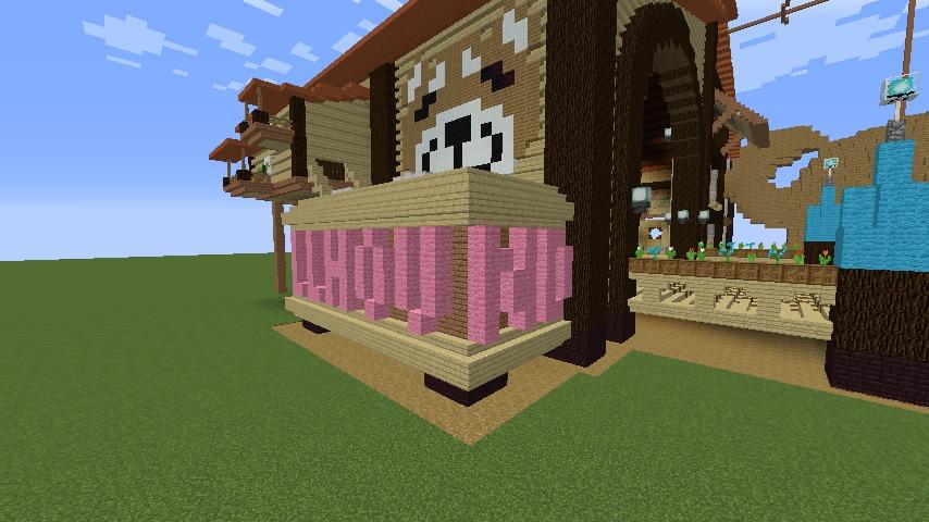 Minecrafterししゃもがマインクラフトで究極の犬小屋を完成させる7