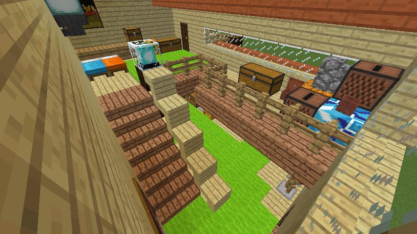 Minecrafterししゃもがマインクラフトで究極の犬小屋を完成させる11