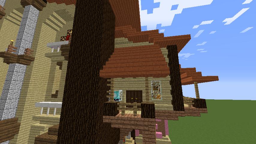 Minecrafterししゃもがマインクラフトで究極の犬小屋を完成させる10