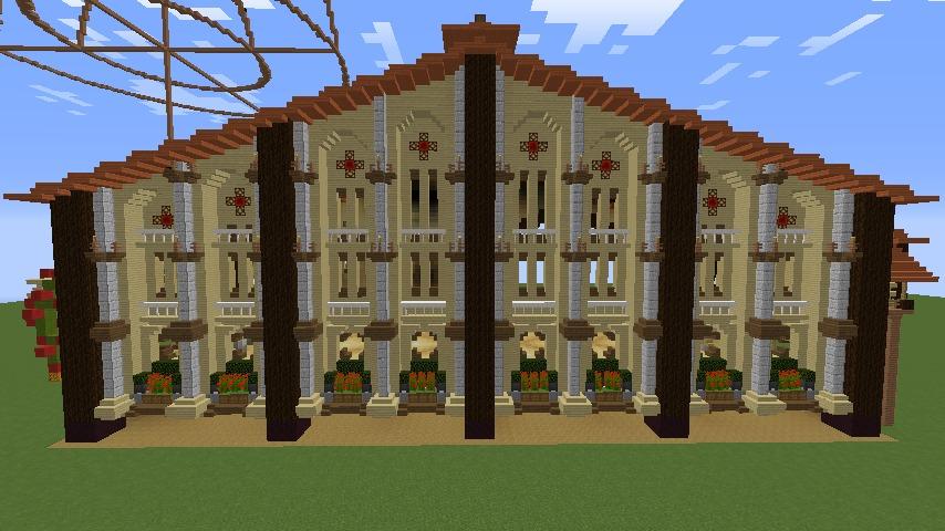 Minecrafterししゃもがマインクラフトで究極の犬小屋を完成させる12