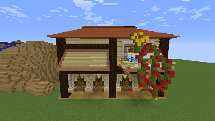 Minecrafterししゃもがマインクラフトで究極の犬小屋を完成させる13