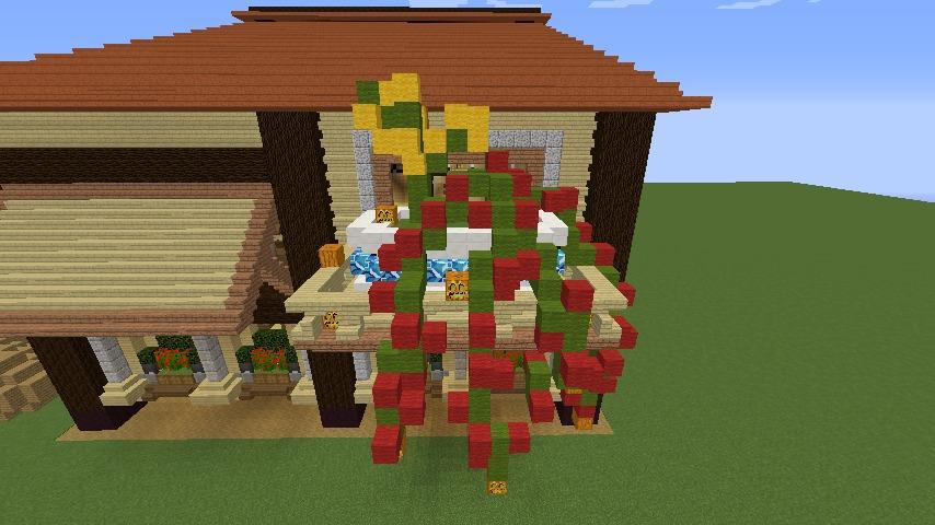 Minecrafterししゃもがマインクラフトで究極の犬小屋を完成させる14