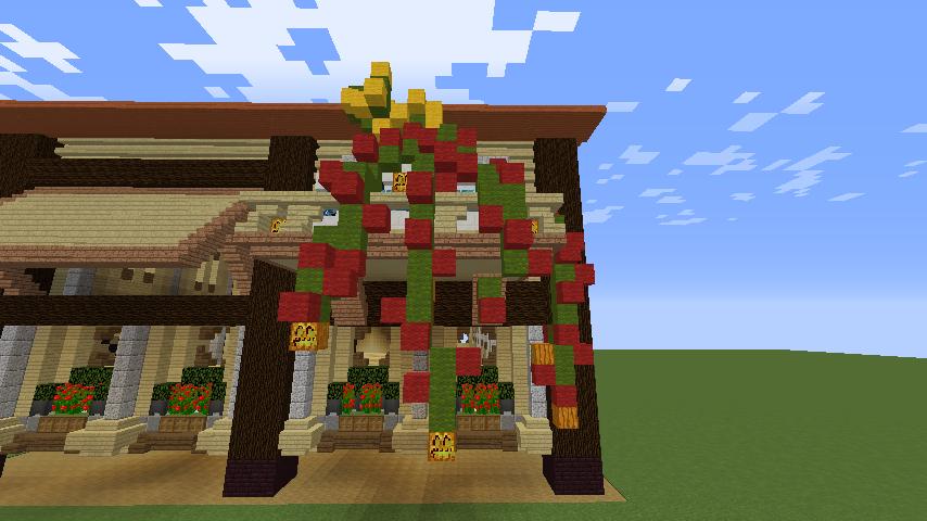 Minecrafterししゃもがマインクラフトで究極の犬小屋を完成させる15