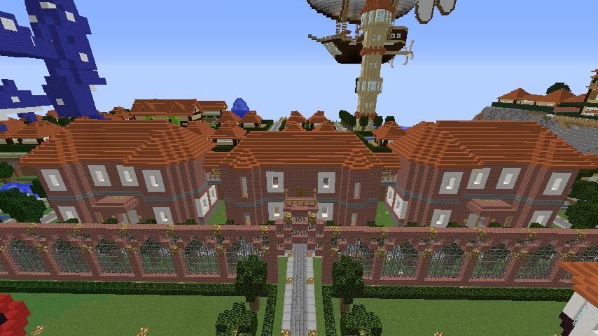 Minecrafterししゃもがマインクラフトで駅同士をつなぐ線路ユニットをつくる11
