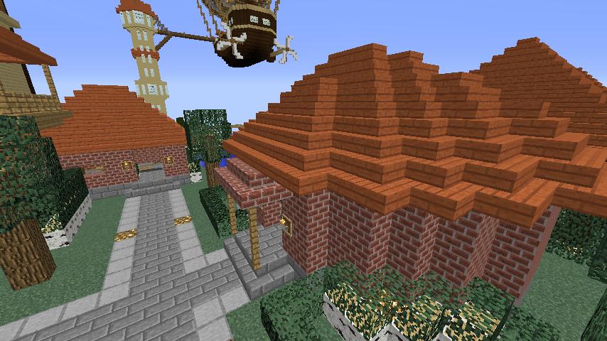 Minecrafterししゃもがマインクラフトで駅同士をつなぐ線路ユニットをつくる13