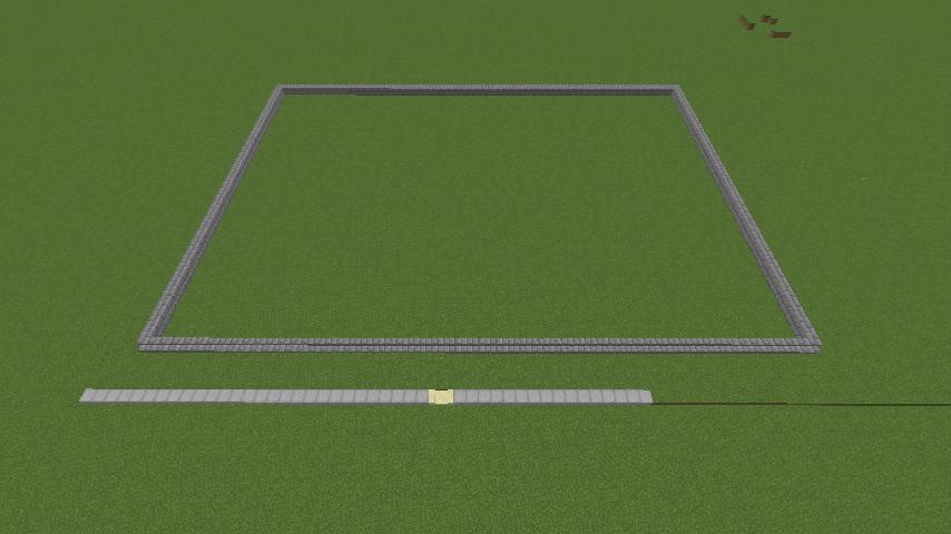 Minecrafterししゃもがマインクラフトで門司港駅をモデルにした駅舎をつくる1