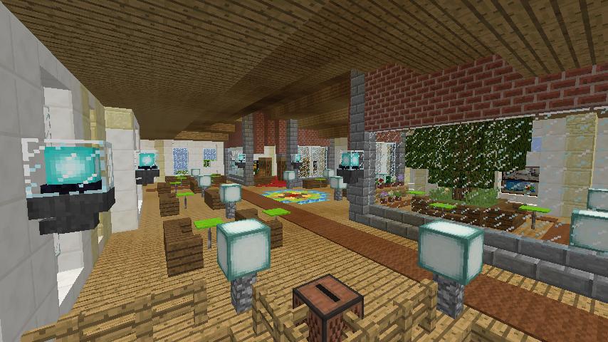 Minecrafterししゃもがマインクラフトで門司港駅をモデルにした駅舎をつくる10