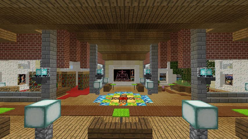 Minecrafterししゃもがマインクラフトで門司港駅をモデルにした駅舎をつくる11