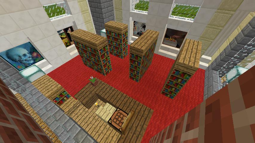 Minecrafterししゃもがマインクラフトで門司港駅をモデルにした駅舎をつくる12