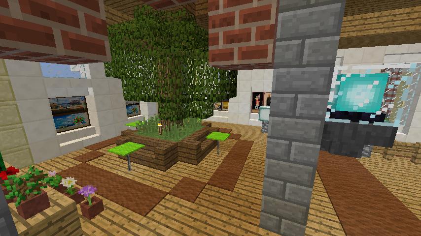 Minecrafterししゃもがマインクラフトで門司港駅をモデルにした駅舎をつくる13