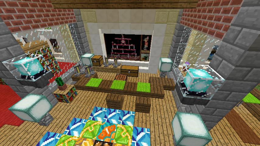 Minecrafterししゃもがマインクラフトで門司港駅をモデルにした駅舎をつくる14