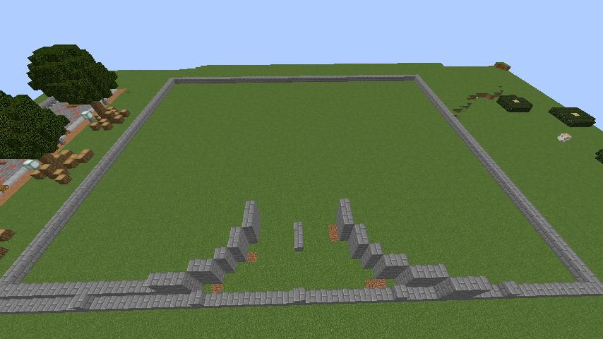 Minecrafterししゃもがマインクラフトで環状地下鉄ぷこの手線の3駅目を作る2