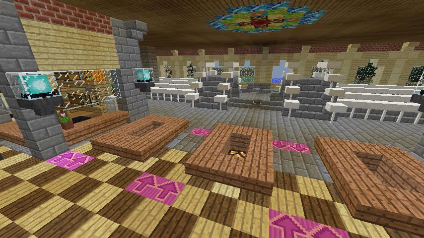 Minecrafterししゃもがマインクラフトで門司港駅をモデルにした駅舎をつくる8