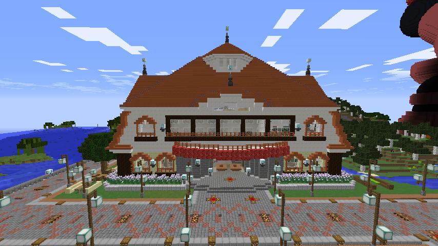 Minecrafterししゃもがマインクラフトで環状地下鉄ぷこの手線の3駅目を作る6
