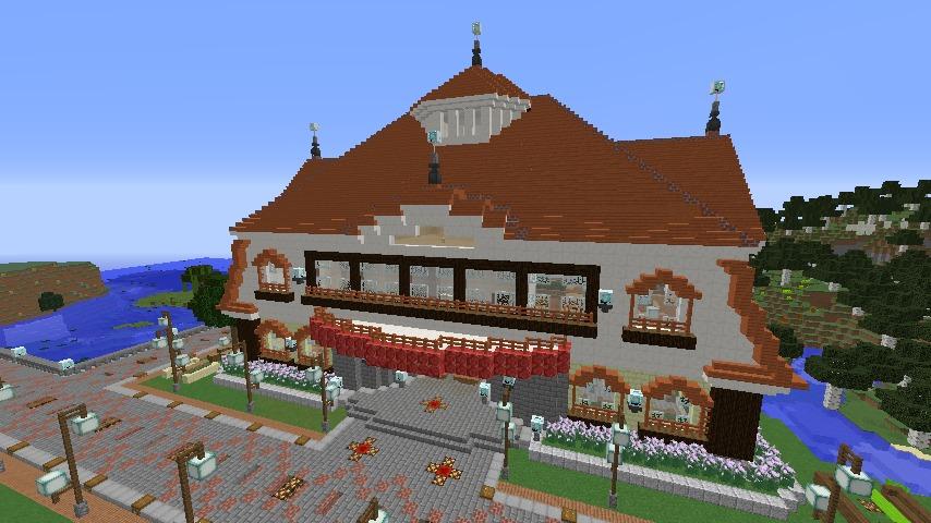 Minecrafterししゃもがマインクラフトで環状地下鉄ぷこの手線の3駅目を作る8