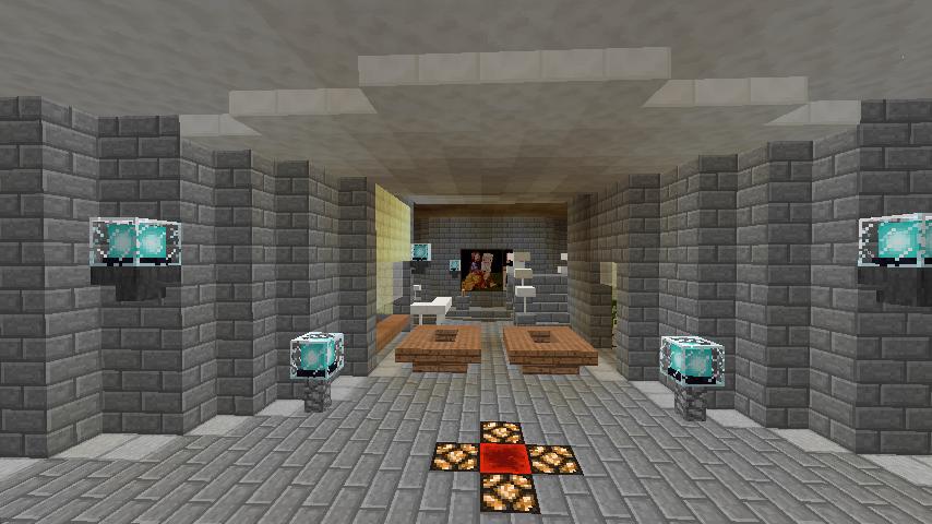 Minecrafterししゃもがマインクラフトで環状地下鉄ぷこの手線の3駅目を作る10