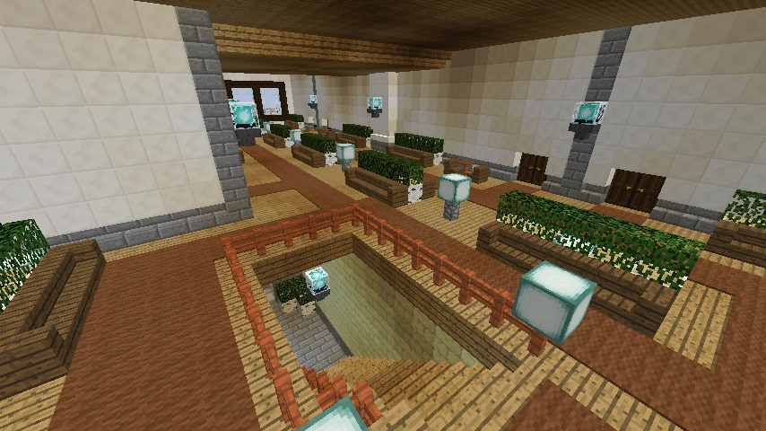 Minecrafterししゃもがマインクラフトで環状地下鉄ぷこの手線の3駅目を作る12