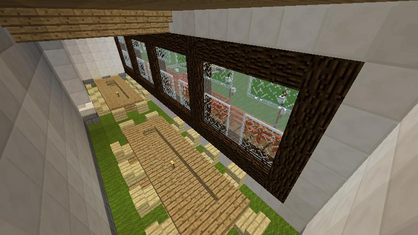 Minecrafterししゃもがマインクラフトで環状地下鉄ぷこの手線の3駅目を作る14