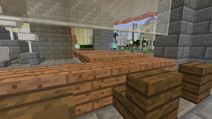 Minecrafterししゃもがマインクラフトで環状地下鉄ぷこの手線の3駅目を作る17