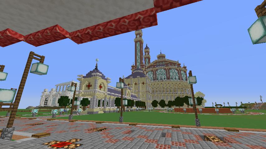 Minecrafterししゃもがマインクラフトで環状地下鉄ぷこの手線の3駅目を作る19