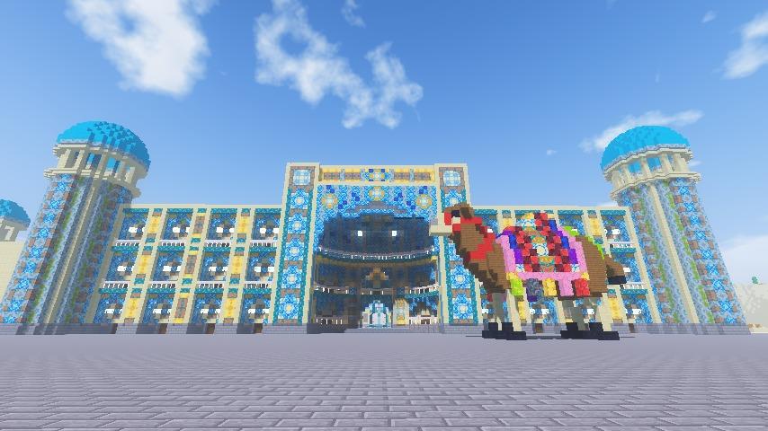 Minecrafterししゃもがマインクラフトで執筆用に建てた建築物の紹介1