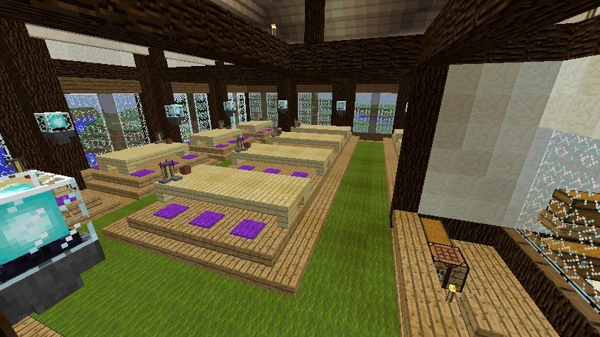 Minecrafterししゃもがマインクラフトでぷこの手線の4駅目を建築する10