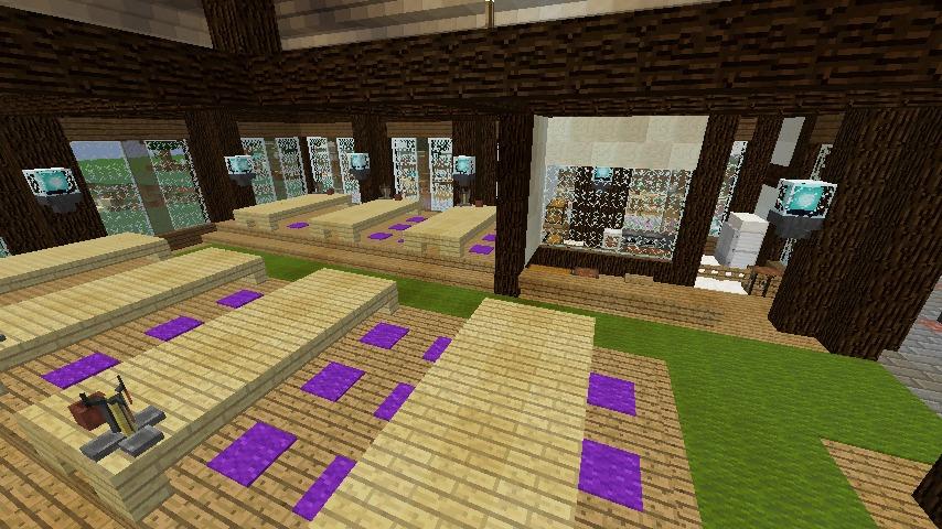Minecrafterししゃもがマインクラフトでぷこの手線の4駅目を建築する11
