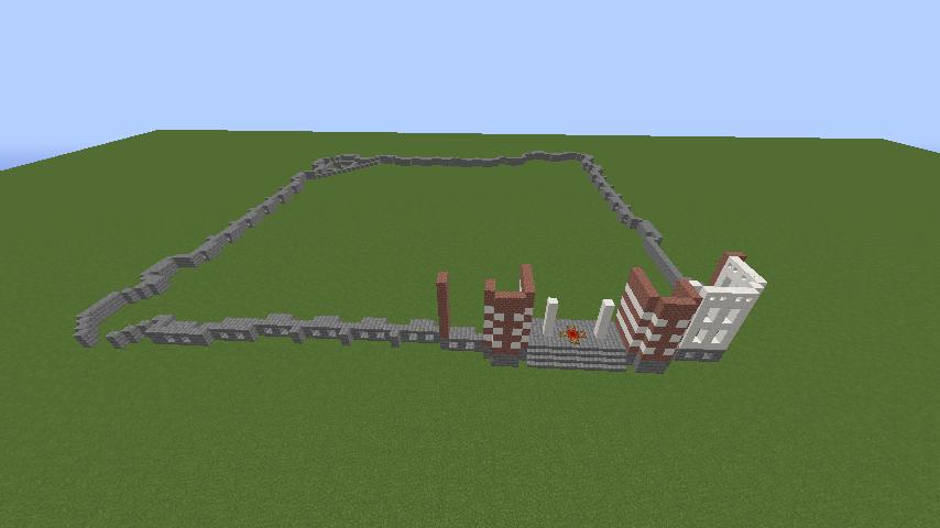 Minecrafterししゃもがマインクラフトで横浜港開港記念会館をモデルに記念館を建てる2