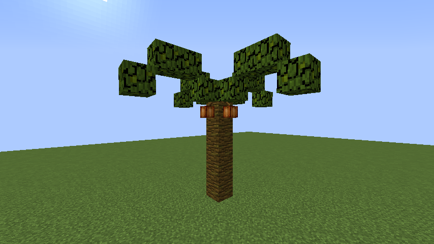 うきうきさんとにゃろりくんが簡単なのにリアルなヤシの木のつくり方を紹介する