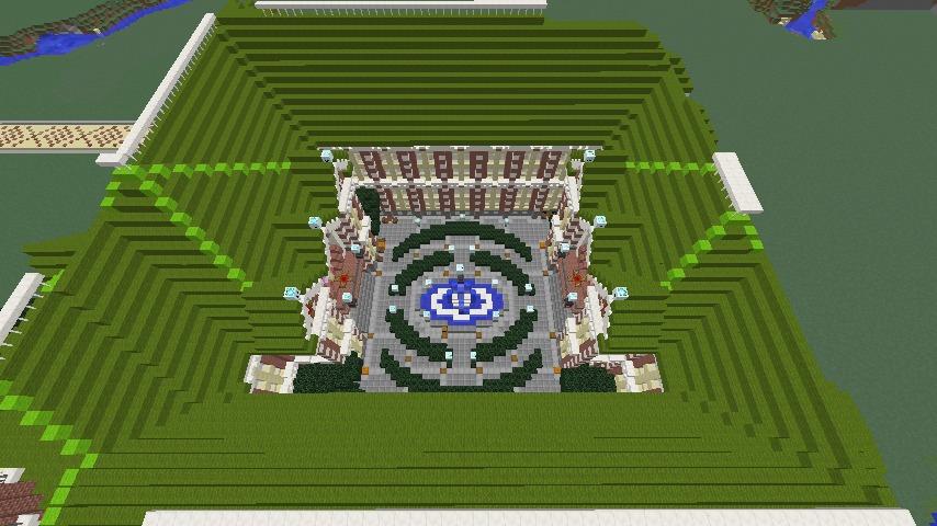 Minecrafterししゃもがマインクラフトで横浜港開港記念会館をモデルに記念館を建てる10