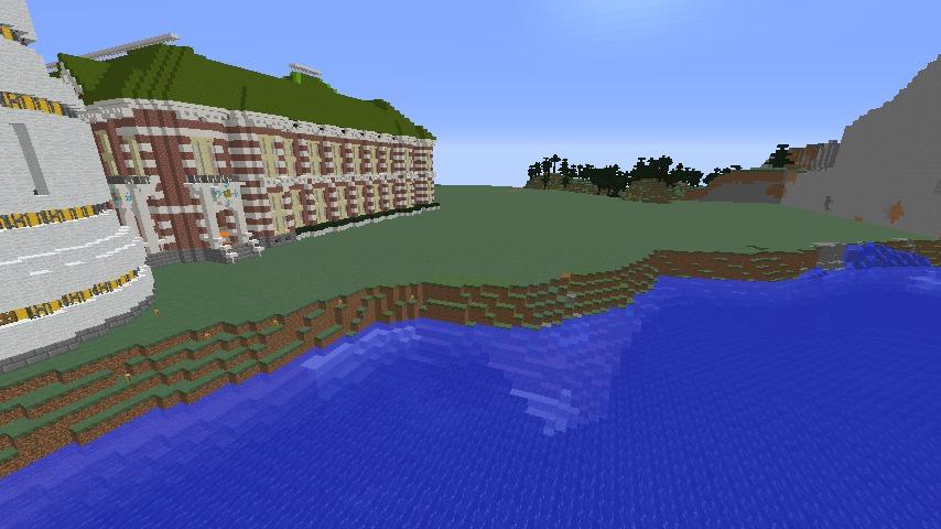 Minecrafterししゃもがマインクラフトでぷっこ村の浜辺を整備してみる1