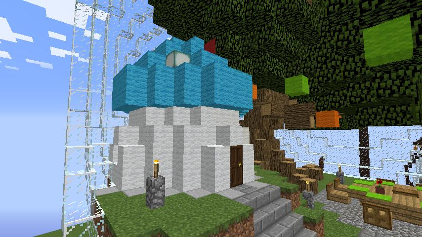 Minecrafterししゃもがマインクラフトでぷっこ村の浜辺を整備してみる6