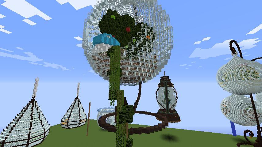 Minecrafterししゃもがマインクラフトでぷっこ村の浜辺を整備してみる5