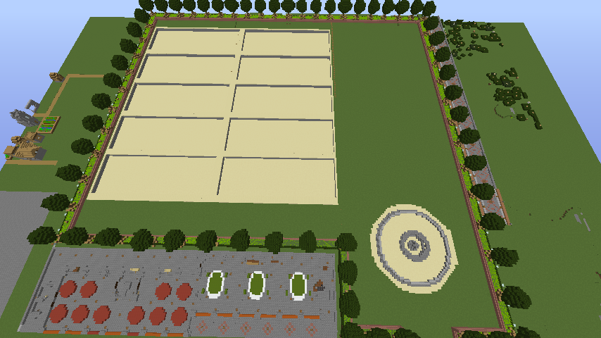 Minecrafterししゃもがマインクラフトでぷっこ村に浄水場を作る4