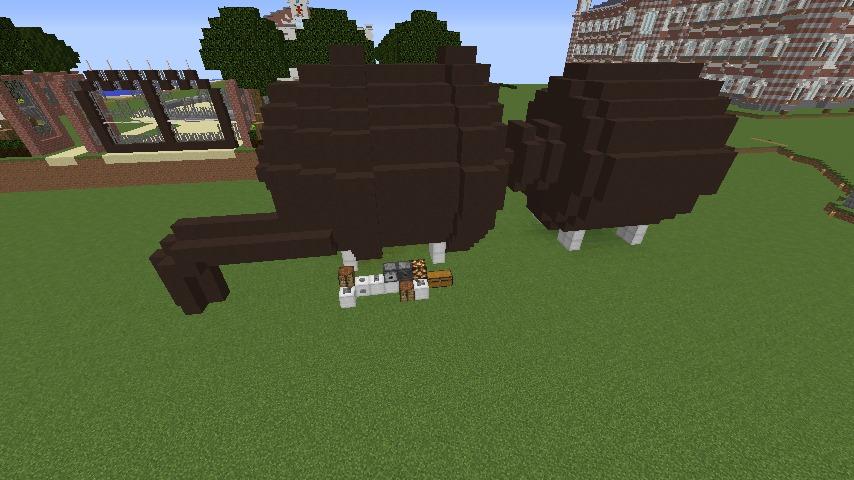 Minecrafterししゃもがマインクラフトでぷっこ村に浄水場を作る12