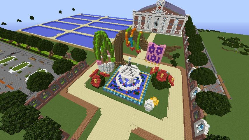 Minecrafterししゃもがマインクラフトでぷっこ村に浄水場を作る14