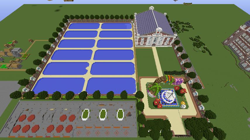 Minecrafterししゃもがマインクラフトでぷっこ村に浄水場を作る2