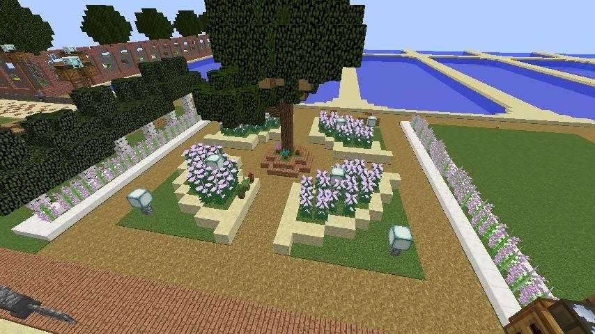 Minecrafterししゃもがマインクラフトでぷっこ村に浄水場を作る11