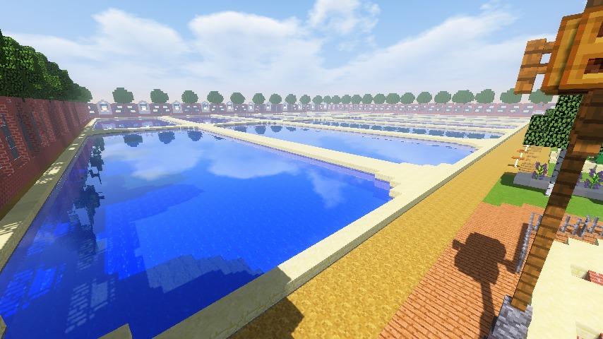 Minecrafterししゃもがマインクラフトでぷっこ村に浄水場を作る15