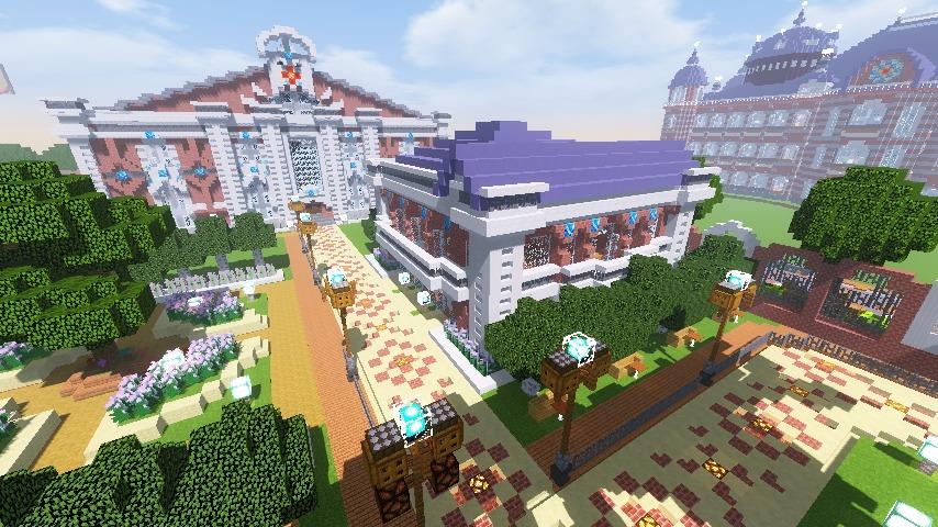 Minecrafterししゃもがマインクラフトでぷっこ村に浄水場を作る16