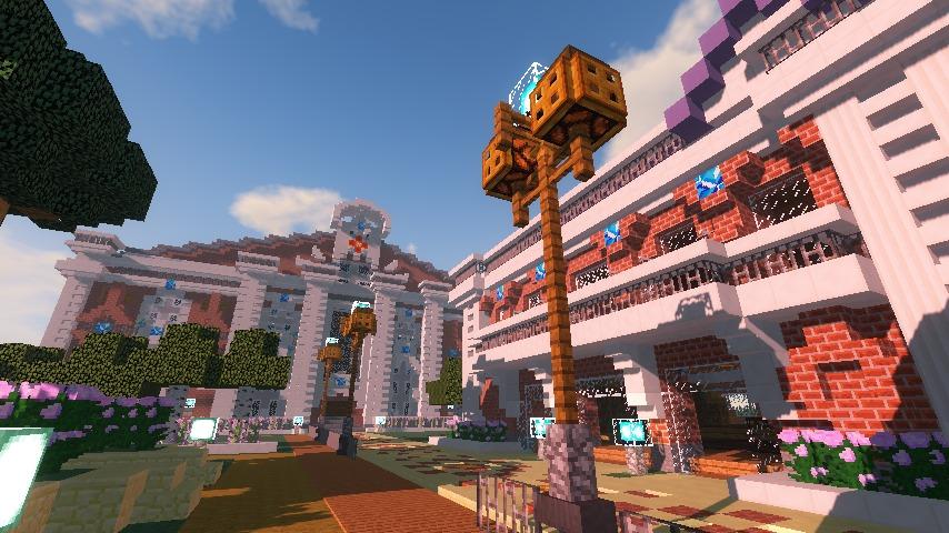 Minecrafterししゃもがマインクラフトでぷっこ村に浄水場を作る18