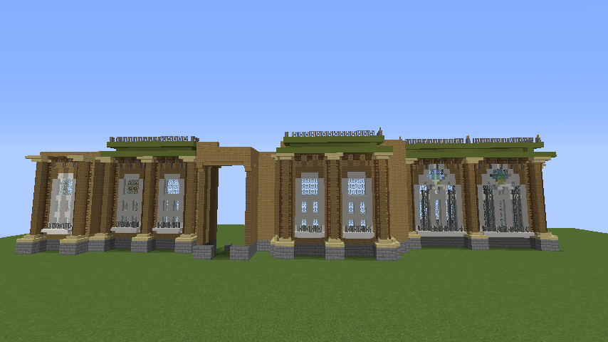 Minecrafterししゃもがマインクラフトでぷっこ村にアダムスファミリーの屋敷を作る4