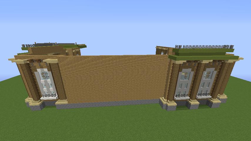 Minecrafterししゃもがマインクラフトでぷっこ村にアダムスファミリーの屋敷を作る5