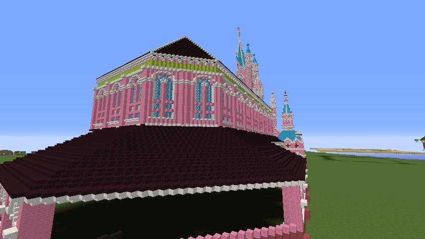 Minecrafterししゃもがマインクラフトでぷっこ村にタンディン教会を再現してみる10
